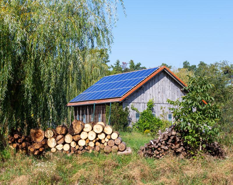 szigetüzemű napelemes rendszer